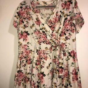 Free kisses short sleeve soft shirt size 3x